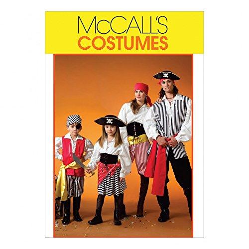 Muster Mccalls Für Kostüm Erwachsene - McCall 's Schnittmuster 4952Unisex Erwachsene Kostüme Größen: S-XL