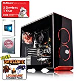 ADMi GAMING PC: Intel G4560 3.5Ghz, GTX 1050Ti 4GB Graphics Card, 8GB 2400MHz DDR4 RAM, 1TB Hard Drive, Coolermaster MasterBox 3.1 Gaming PC Case, Wifi, Windows 10