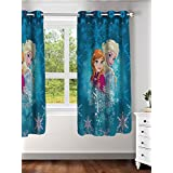 "Disney- Athom Trendz- Frozen- Kids- Window Curtain- Single Piece- 48""x58"" (4ftx5ft)"