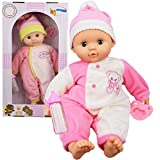 Born Baby Doll Baby Sounds Soft Bodied Doll Girls Pretend Play Toy