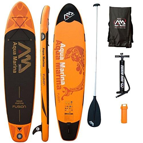 AQUA MARINA, FUSION+ALU-Paddle, Paddle Board, SUP, 330x75x15 cm