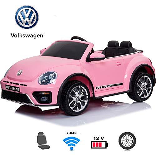 BC BABY COCHES Coche eléctrico para niños - Volkswagen Beetle Dune Coche...