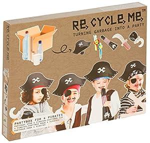 Re Cycle Me defg1420-Manualidades Diversión Party Caja Piratas para 5Modelos