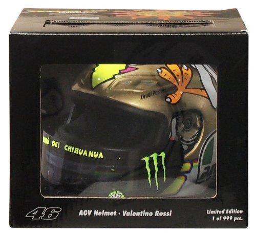 AGV 1: 2 della Scala del Casco di Valentino Rossi in MotoGP Valencia 2009