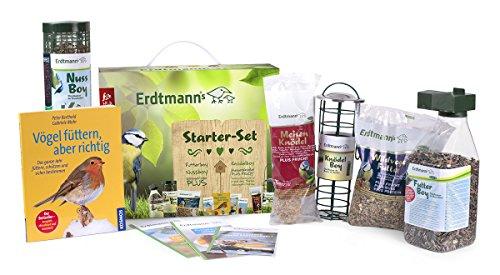 Erdtmanns Wildvogelfutter-Starter-Paket, 1er Pack (1 x 2.15 kg)