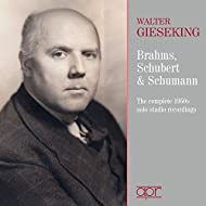 Brahms, Schubert & Schumann, Piano Works