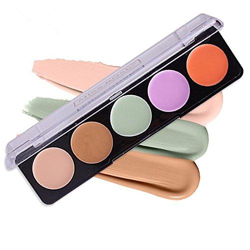 Pure Vie® Concealer Abdeckcreme Camouflage Palette Cover Abdeck Makeup mit 5 Farben Mode -