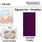 Impérial Violet Versafine Tsukineko Détails Fins Pigment Encre Tampon Pour Timbre En Caoutchouc Séchage Rapide