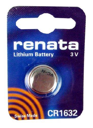 Renata Batterie au Lithium 3 V CR1632 fabriqué en Suisse