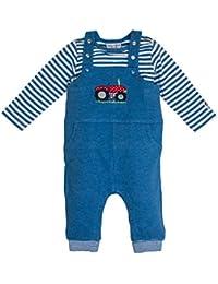 Salt & Pepper Bg Dungarees Uni, Pelele para Bebés