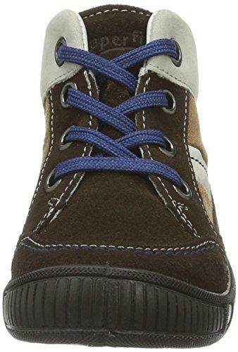 Superfit  COOLY, {Chaussures premiers pas pour bébé (garçon) Marron - Braun (MOCCA KOMBI 11)