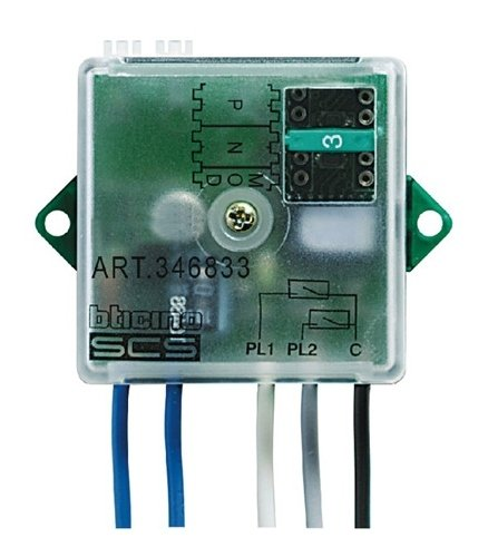 BTicino Bus Interface Pressure Switch System