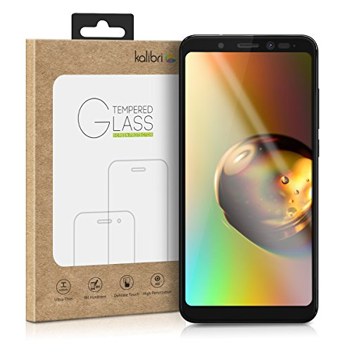 kalibri-Echtglas-Displayschutz-fr-Wiko-View-3D-Schutzglas-Full-Cover-Screen-Protector-mit-Rahmen-Glas-Folie-auch-fr-gewlbtes-Display-in-Schwarz