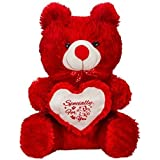 [Sponsored]Teddy Soft Toys Teddy Bear - 12 Inch - Red.