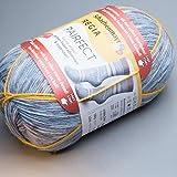 PAIRFECT Regia - Farbe 7124 - 4fädig - 100g - ca. 420mtr. - 75% Schurwolle, 25% Polyamid regia pairfect Mit Schachenmayr REGIA PAIRFECT identische Socken stricken