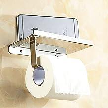 SPAHER Porta carta igienica Basamento del supporto del telefono mobile del supporto del tessuto Rust prova raccordi in acciaio inox 304