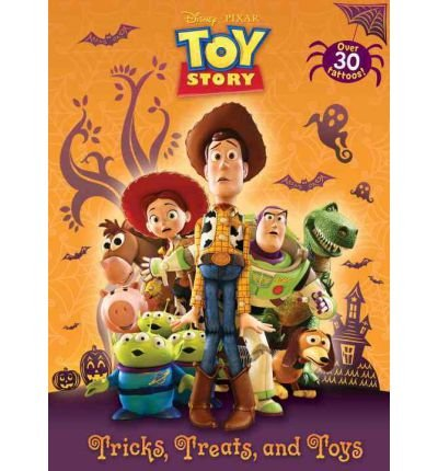 Toys [With Tattoos] (Disney Pixar Toy Story (Paperback)) [ TRICKS, TREATS, AND TOYS [WITH TATTOOS] (DISNEY PIXAR TOY STORY (PAPERBACK)) ] By Random House Disney ( Author )Jul-10-2012 Paperback (Pixar Tattoo)