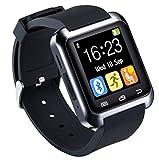 U80Smart Watch Bluetooth 4.0anti-perte pour poignet montre téléphone Mate pour Android et iPhone iOS (Partial Function)