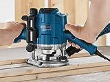Bosch Professional GOF 1250 CE, 1.250 W Nennaufnahmeleistung, 10.000 - 24.000 min-1 Leerlaufdrehzahl, Kopierhülse 17 mm, Parallelanschlag -