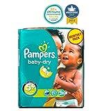 Pampers Baby-Dry Windeln Größe 5+ Monatspackung - 132 Windeln - Packung mit 2