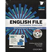 English file pre-intermediate Student´s Book + Printed Workbook with Key + Online Skills Practice, 3 Edition (English File Third