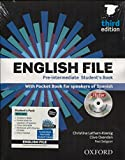 English file pre-intermediate Student´s Book + Printed Workbook with Key + Online Skills Practice, 3 Edition (English File Third Edition) - 9780194598934 (Tapa blanda)