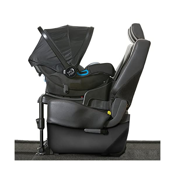 Baby Jogger City Go i-Size Iso-fix Car Seat Base,  Black Baby Jogger Compatible with baby jogger city go i-size infant car seat. Secure isofix connectors plus colour-coded red/green indicators ensure both the base and seat are properly installed, minimising the risk of incorrect installation. Load leg prevents the seat from shifting when rear facing. 3