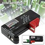 Tjackson Digital Battery Capacity Tester LCD for 9V 1.5V AA AAA Cell C D Batteries