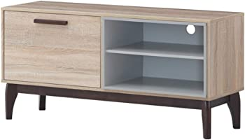 Maison Concept Brames TV Cabinet for  65 inch TV - Beige & Grey (W400 x H580 x D1200 mm)