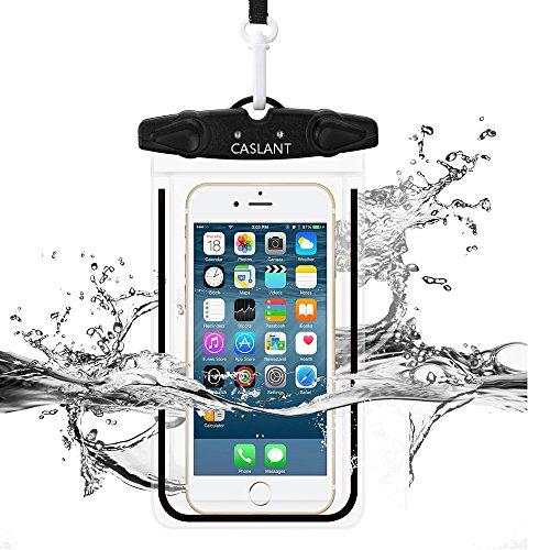 Custodia Impermeabile Smartphone: 5,5 Pollici Waterproof Case IPX8 Certificato Anti-neve Anti-sporco con la Erratura di Sicurezza per iPhone 6/ 6S Plus/5/5s/5c Galaxy S7/S7 Edge/S6/S5/S4 Note3/4 LG G5/G3