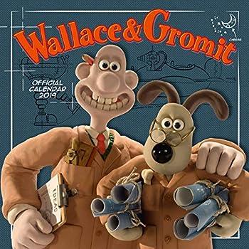 Wallace & Gromit Official 2019 Calendar - Square Wall Calendar Format