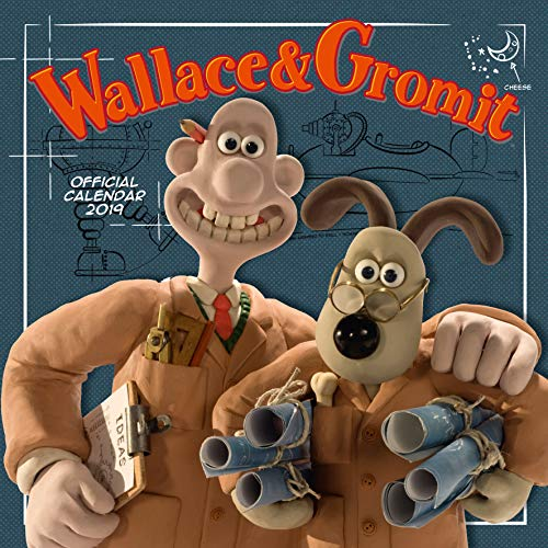 Wallace & Gromit Official 2019 Calendar - Square Wall Calendar Format par Wallace & Gromit