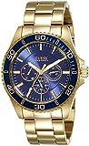 Guess Herren-Armbanduhr Chronograph Quarz Edelstahl W0172G5