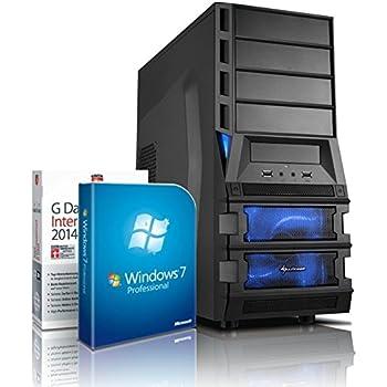 Gaming / Multimedia COMPUTER mit 3 Jahren Garantie! | Quad-Core! AMD A8-7600 4 x 3800 MHz | 8192MB DDR3 | 1500GB S-ATA II HDD | AMD Radeon R7 720 - Mhz 4096 MB DVI/VGA mit DirectX11 Technology | USB3 | FM2+ Mainboard | 22x Dual Layer DVD-Brenner | All-In One Card-Reader | 7 USB-Anschlüsse | Windows7 Professional 64 | GDATA Internet Security 2015 | #4818