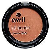 Avril - Colorete - Certificado ecológico - Melocotón rosa (2,5g)