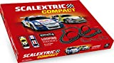Scalextric- Compact Looping Raiders, Color Rojo (Scale Competition Xtreme C10257S500)