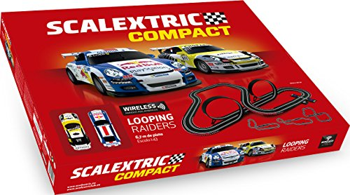 Scalextric Compact Looping Raiders Color Rojo Scale