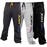 XXR Deluxe Fleece Joggers Tracksuit Bottom Gym Fitness Exercise Casual Jogging (Grey,Black ,Charcoal)