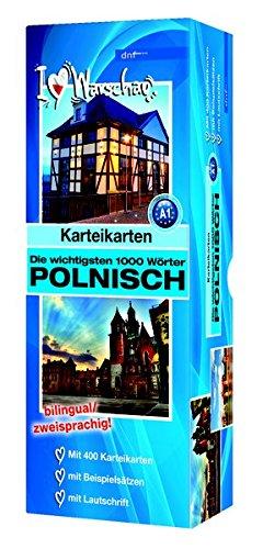 Karteikarten - Die wichtigsten 1000 Wörter, Polnisch: Niveau A1 bilingual / zweisprachig