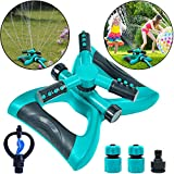 Garden Sprinkler Automatic 360 Rotating Lawn Sprinklers for Large Areas of Coverage Water