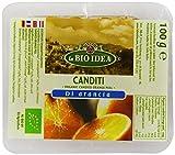 La Bio Idea Organic Candied Orange Peel 100 g (Pack of 4)