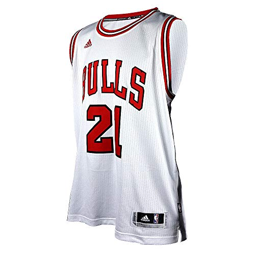 adidas Herren Fan/Heim-Trikot Washington Wizards John Wall NBA Replica (XL, Weiß (Chicago Bulls))