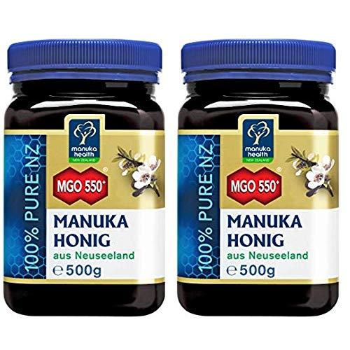 Manuka-honig (Manuka Health Manuka Honig Doppelpack (2x MGO 550+ 500g))