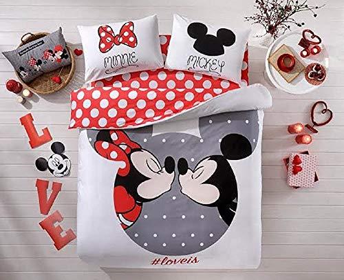 Día San Valentín regalos 100% algodón Disney 4piezas