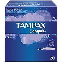 Tampax Tampones Compak Lites -22 Unidades