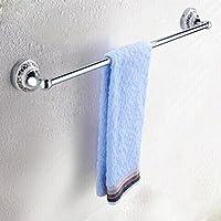 XXTT-Portasciugamani di porcellana bianca e blu, portasciugamani in acciaio inox, porta asciugamani, antichi scaffali