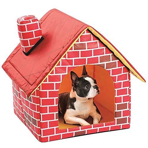 Cuccia per Cani/Cuccia per Cani/Gatto Domestico/Casa per Gatti, Cuccia Portatile per Gatti Casa per Gatti