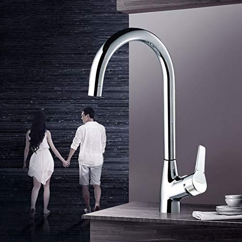 Ppigle Küchenarmatur waschbecken waschbecken wasserhahn heißer und kalter wasserhahn waschbecken wasserhahn spritzkopf echtes gesund net blei hochwertigen keramikventilkern um 360 ° drehung