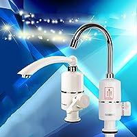 Immediata calda acqua del rubinetto senza serbatoio rubinetto elettrico rubinetto della cucina dual calda e riscaldamento acqua fredda elettrico istantaneo acqua di riscaldamento del riscaldatore di acqua , side water inlet