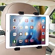 """Soporte para tablet , Ubegood Soporte Tablet Coche Universal Soporte de Coche para reposacabezas del coche para Tablet Compatible con Ipad, Samsung Galaxy y otras tabletas de 6-11""""(Negro)"""